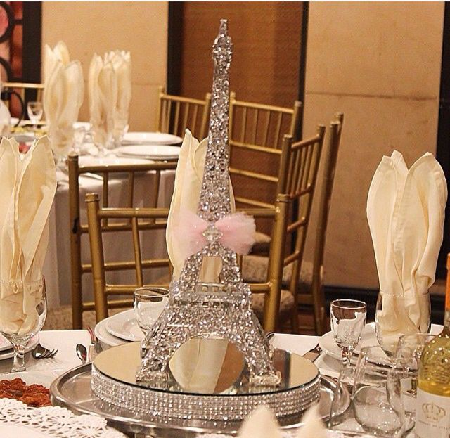 640 623 flowers pinterest - French themed table decorations ...