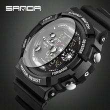Часы люксовый Бренд Мужчины G Ячмень Мода Спорт Цифровые Часы Мужские Военная Водонепроницаемый Шок Цифровые часы Часы reloj hombre 2016(China (Mainland))