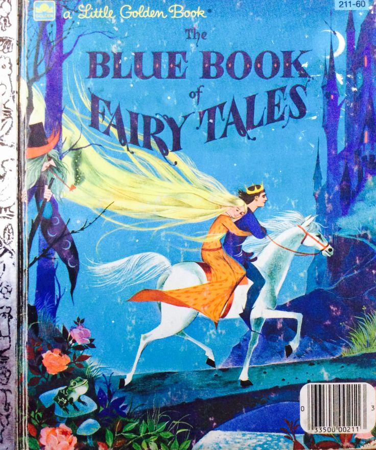 The Blue Book of Fairy Tales Little Golden Book by Lonestarblondie on Etsy