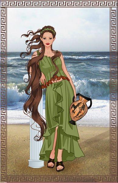 Greek Goddess~by Agateswirl