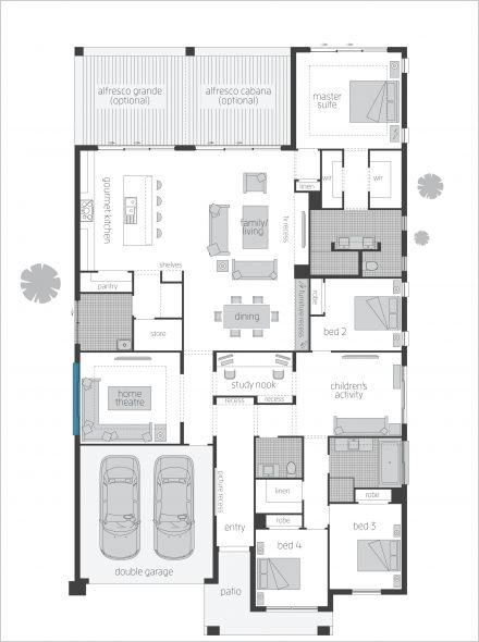 Really like this aspects of this floor plan Miami - Floorplans | McDonald Jones Homes