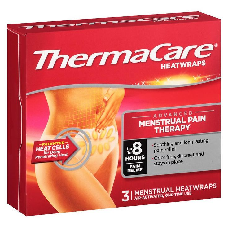 ThermaCare Heatwraps Air-Activated Advanced Menstrual Pain Therapy
