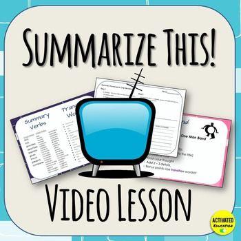 Risultati immagini per summarizing a video