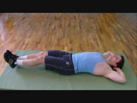 Упражнения для быстрого похудения живота. - YouTube