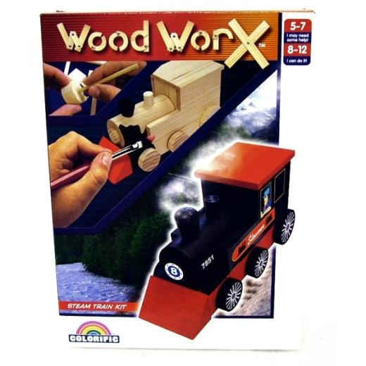 Decorate your own car with the Colorific Wood Worx!