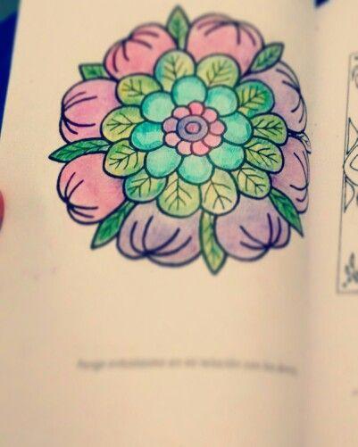 Con amor!  #mandalas #colores #alegres #chile #fefi