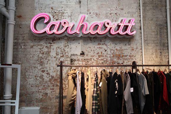 Carhartt Retail Neon Light Signage