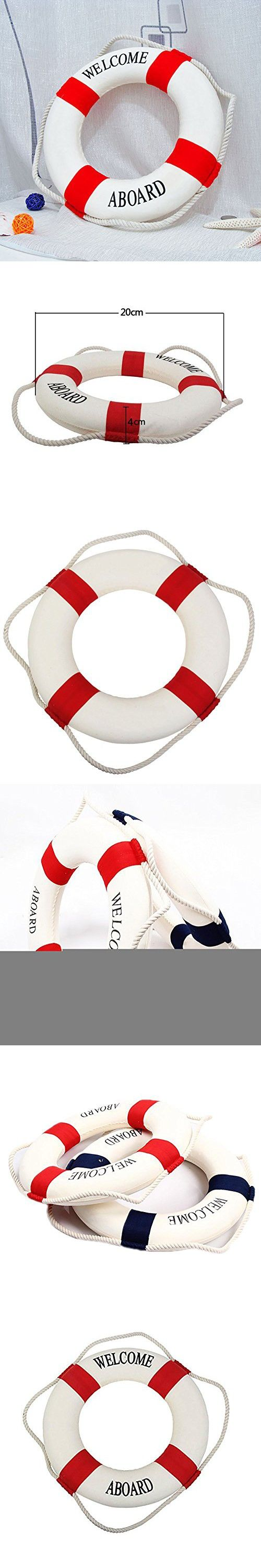 Peyan 4 Sizes Navy Style Lifebuoy Nautical Aboard Sign In Home Decor Decorative Life Ring Room Bar Home Decoration