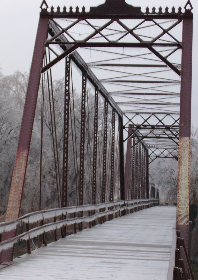 Bridge In Caplinger Mills, Missouri  I remember being here lots of times!