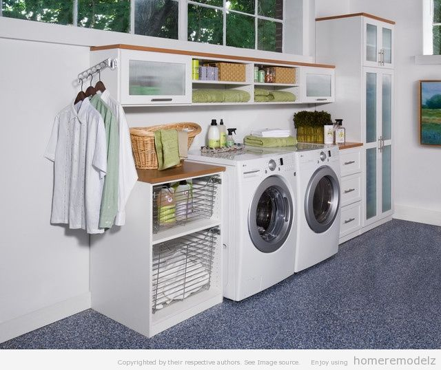 Utility Room Creative Ideas | Modern Furniture Design Blog