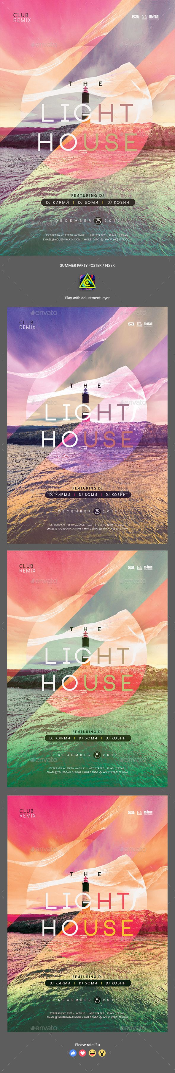 The Light House Summer Poster / Flyer