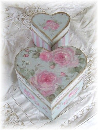 heart boxes..