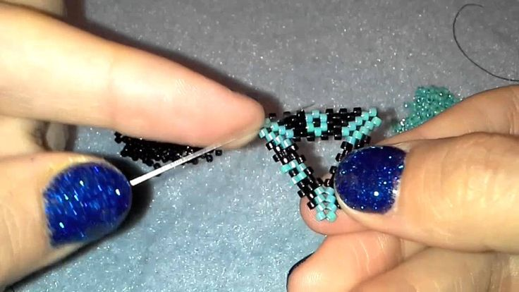 Video: triangles. #Seed #Bead #Tutorials