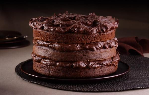recipe-Ultimate Chocolate Fudge Layer Cake