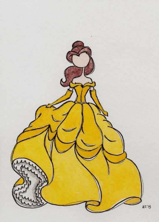 Belle / The Art of Leah T.