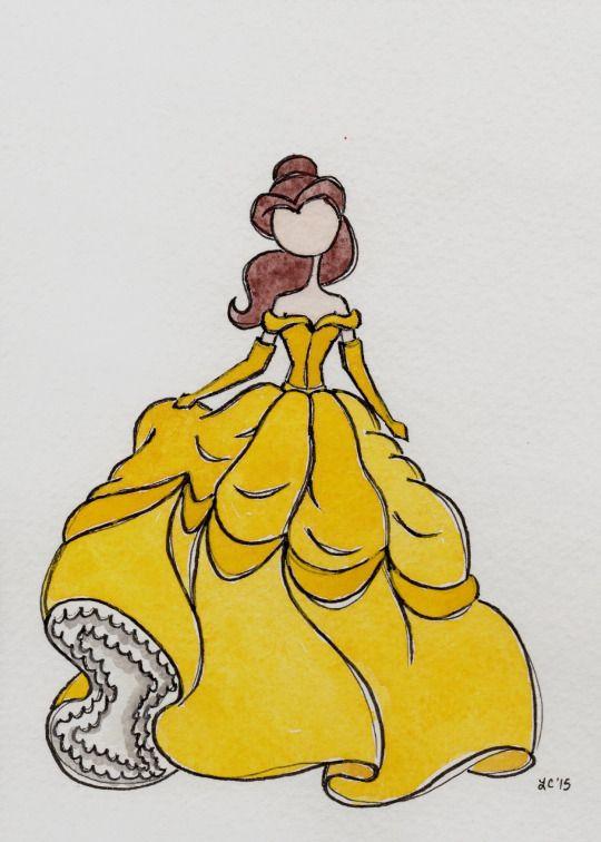 The Art of Leah T. | Beauty and the Beast | Bella | La Bella y la Bestia | @Dgiiirls