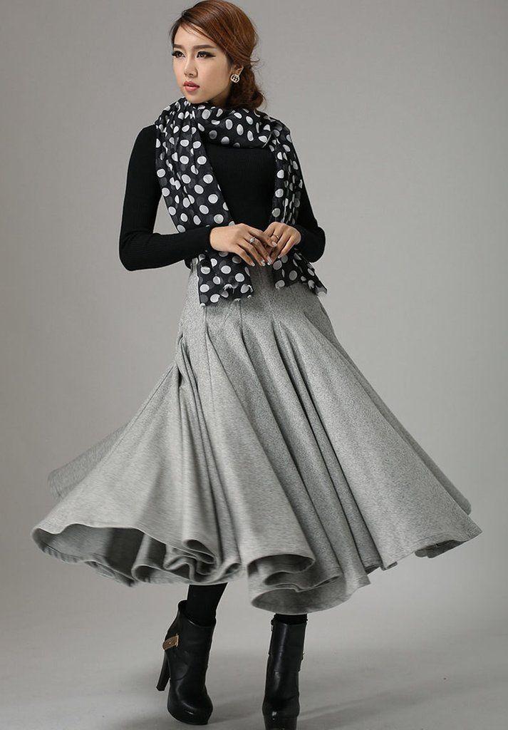 17 best ideas about maxi skirt winter on