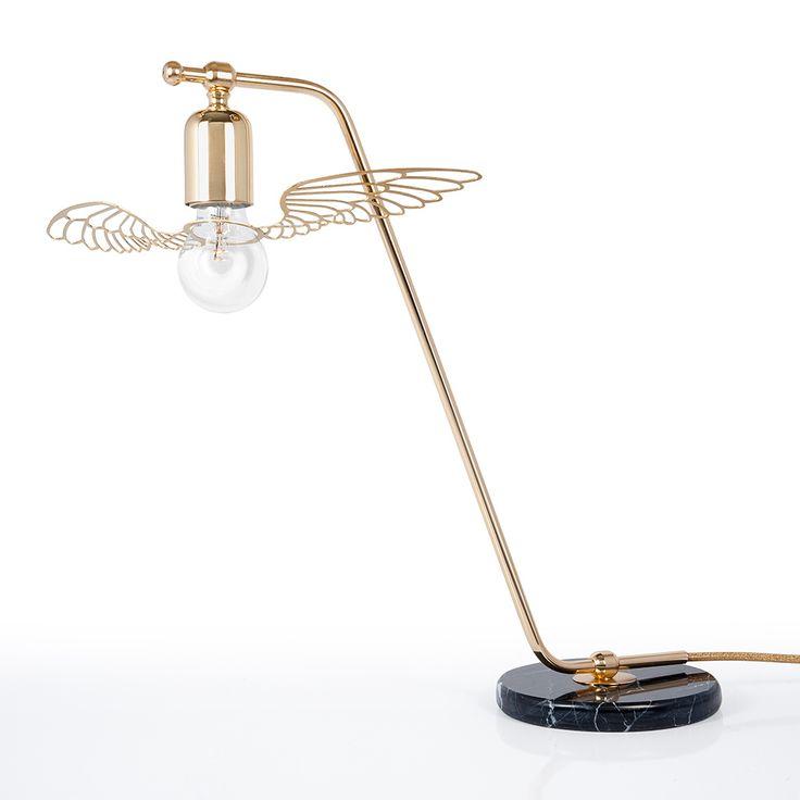 384tl Parlaq Mimarlık Angel Wing Masa Lambası Siyah Mermer Tablalı, uygun ödeme ve hızlı kargo seçenekleriyle Altincicadde.com'da sizleri bekliyor.
