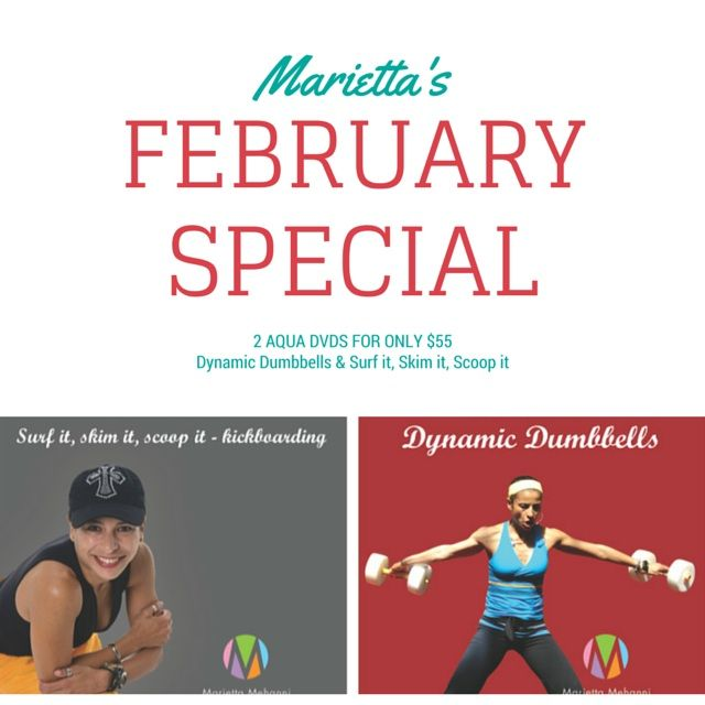 Feb DVD special! 2 #aqua DVDs for only $55, that's a $15 saving!