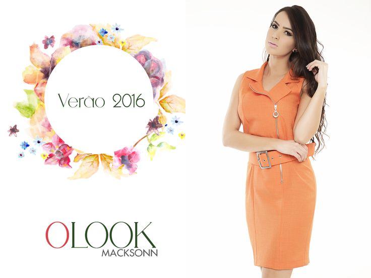 O look do dia é vestido Macksonn laranja super fresquinho! <3  #Macksonn #Summer #Macksonn2016