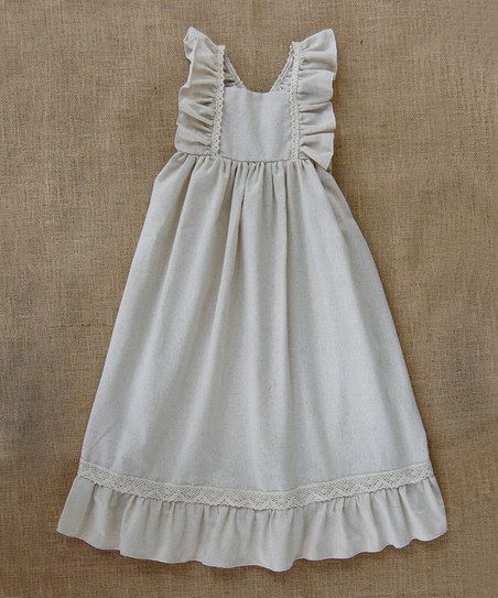 Sado Beige Earth Blend Maxi Dress - Infant, Toddler & Girls | zulily