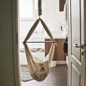 NONOMO® Babywiege | Federwiege | Babyhängematte, 169,90 EUR #babyhammock #babycrib #baby #sleeping