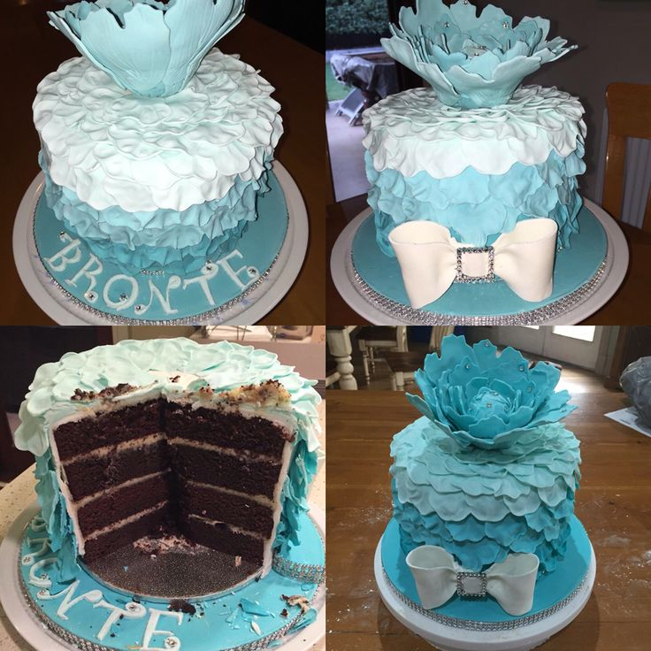 Brontes 10th birthday cake
