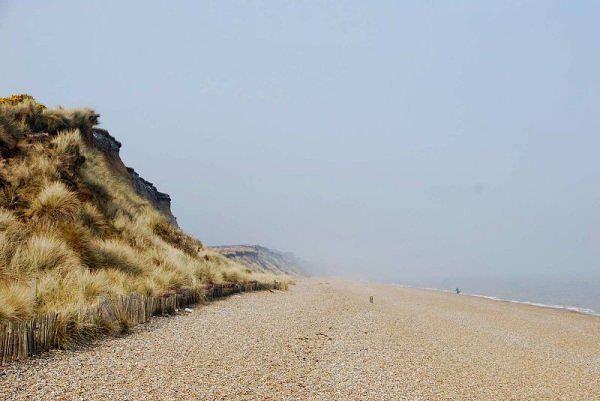 Dunwich coastline