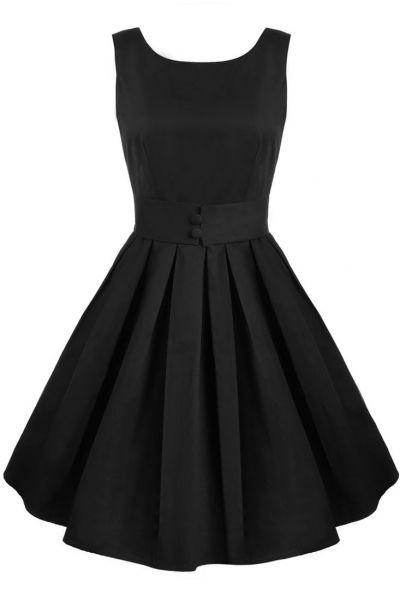 Hepburn Style VElastic Vintage Waist Bubble Dress