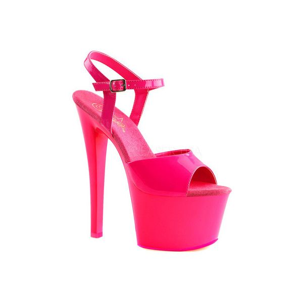 1000  ideas about Hot Pink Shoes on Pinterest | Sexy heels Girls
