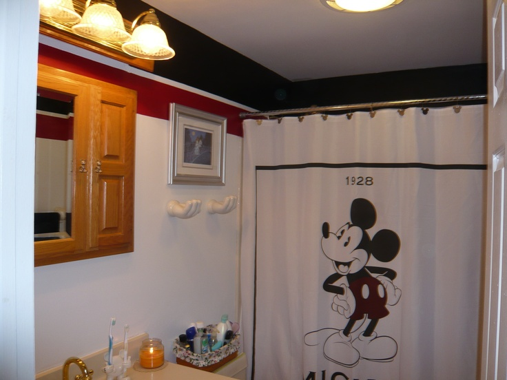 93 best mickey mouse bathroom images on pinterest | mickey mouse