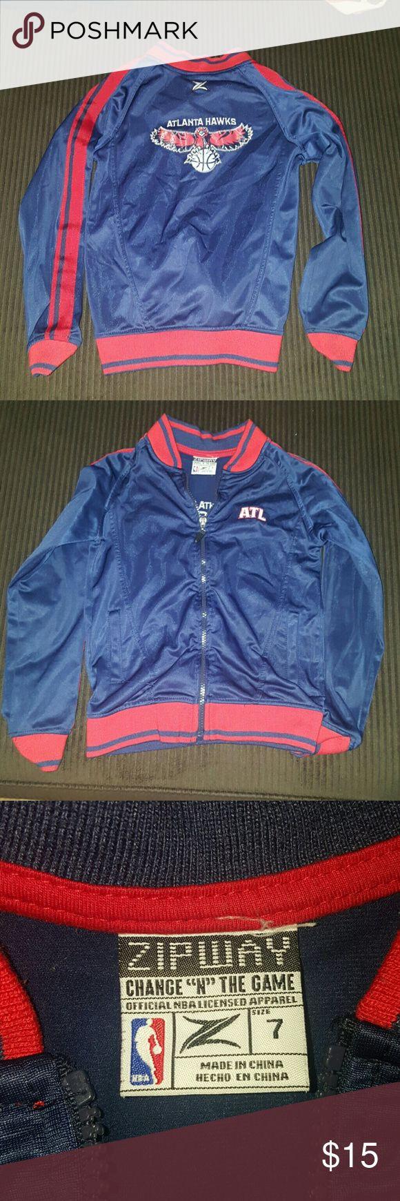 Atlanta Hawks Good condition size 7 nba Jackets & Coats