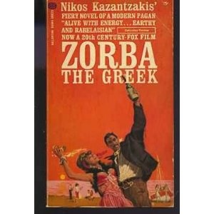 """Zorba The Greek"" by Nikos Kazantzakis (via Amazon.com)"