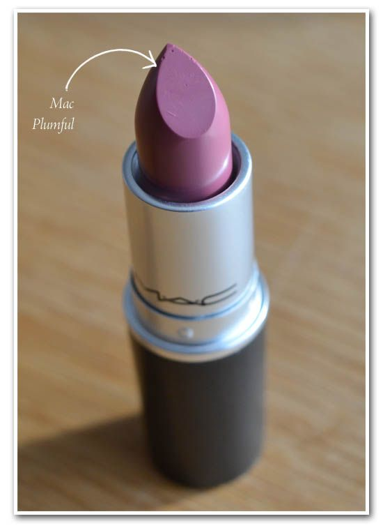 Finally found my MAC Plumful lipstick, hidden in a purse!...I absolutely love this color! So perfect!!!