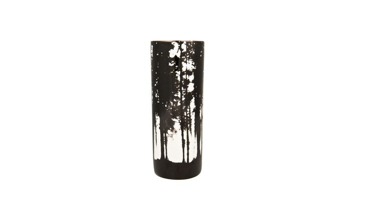 MONOQI | Woodlands Vase - Black