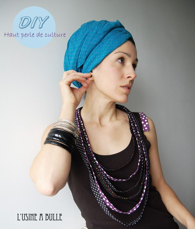 [DIY] Haut perle de culture L'Usine à Bulle