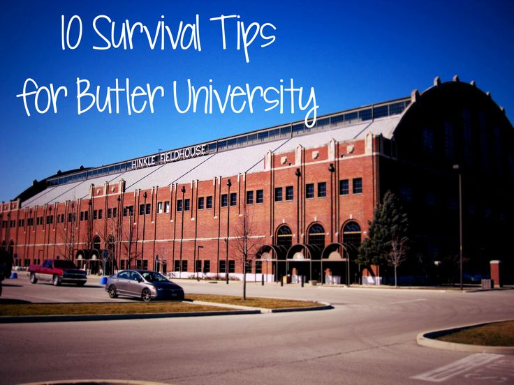 10 Survival Tips for Butler University