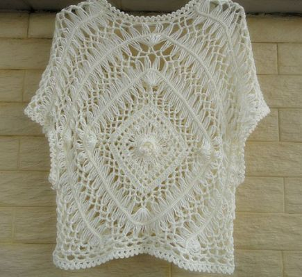 Hairpin Lace Summer Blouse Part