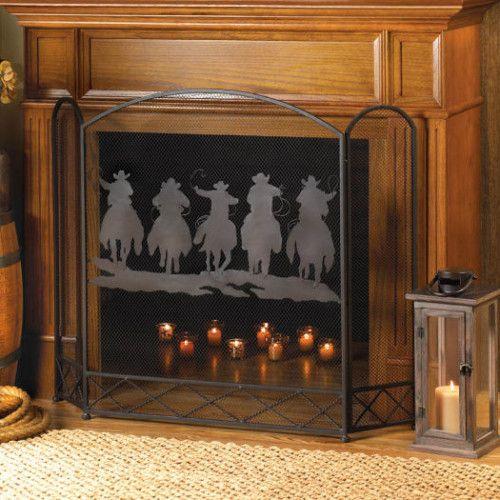 Fireplace Screens - Casa Del Rancho Trading Post