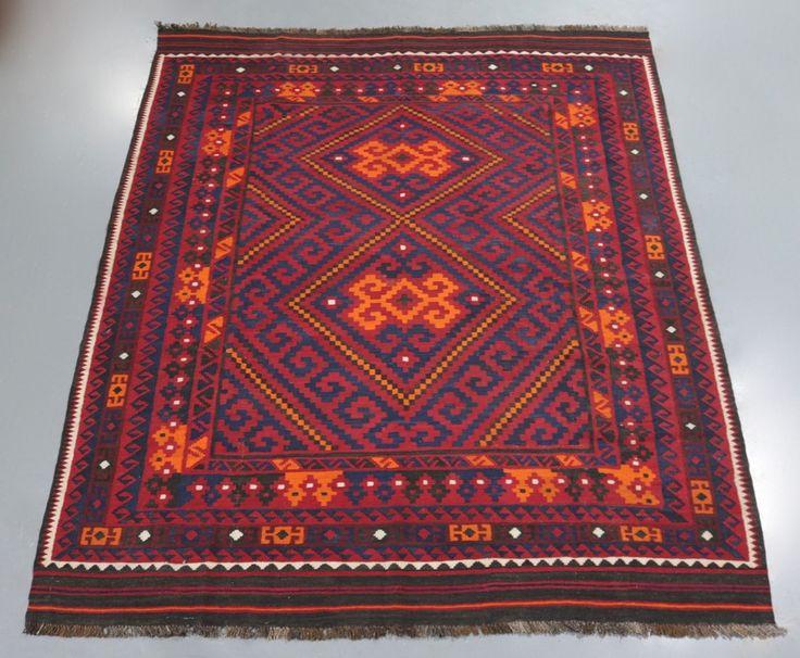 Kyber Mori Tribal Kilim (Ref 50) 288x235cm - PersianRugs.com.au