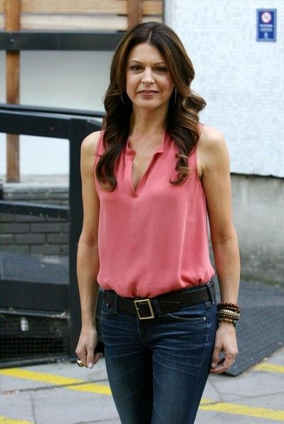 Jane Leeves at London Studios