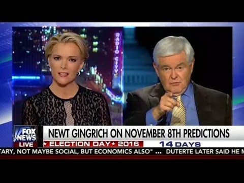 The Kelly File | Oct 25, 2016 | Newt Gingrich Blasts Megyn Over Trump Co...