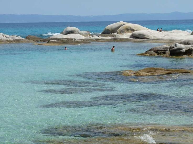 Orange beach, (Portokali) Sithonia