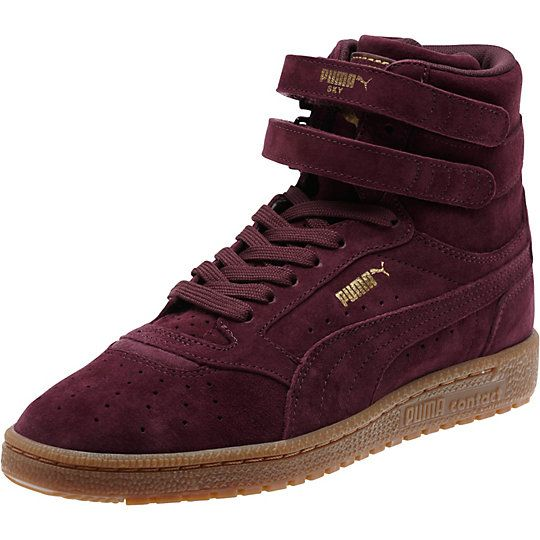 <p>First introduced in 1980 and played on the court by all-stars, the Sky II Hi was PUMA's original basketball shoe. This re-issue brings the OG silhouette to life in all-over nubuck.</p><p>Features</p><ul><li>Nubuck upper</li><li>Lace closure for a snug fit</li><li>Dual hook-and-loop straps for a signature look</li><li>Rubber outsole for grip</li><li>PUMA Formstrip at both s...