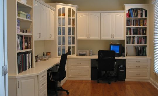 Love this office layout!