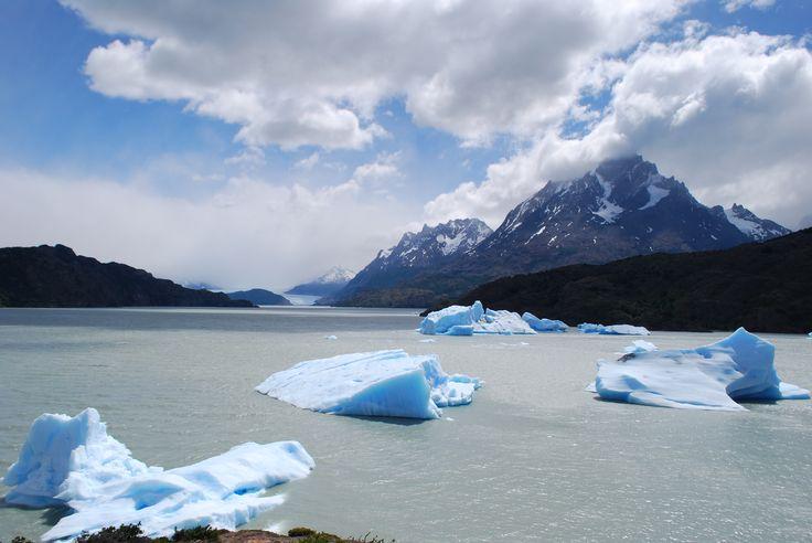 Hielos en Torres del Paine