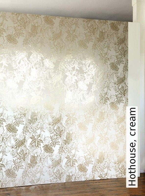 56 best Tapeten, Stoffe images on Pinterest Wall papers, Fabrics - goldene tapete modern design