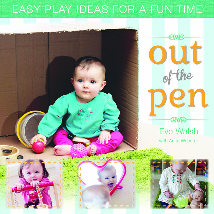 A refreshing and inspirational book of simple yet meaningful play ideas for babies under 1.  Buy via BE BEST GROUP http://www.bebestgroup.com/product/out-of-the-pen/ OUT OF THE COT STORE http://www.ootc.com.au/  VICS COFFEE SHOP Women's & Children's Hospital Adelaide.  ART MARK Tina Delchau https://www.facebook.com/pages/Art-Mark/710958552296309 SHAKESPEARS BOOKSHOP http://www.shakespearesbooks.com.au/