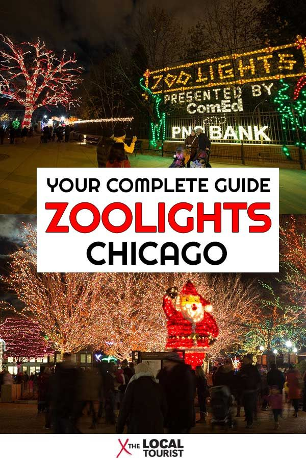 Lincoln Park Zoo Zoolights Your Complete Guide Lincoln Park Zoo Chicago Travel Train Adventure
