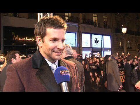 Pin for Later: 17 Stars, die euch Sprachunterricht geben könnten Bradley Cooper: Französisch Ist Bradley Cooper nicht einfach sexy, wenn er Französisch spricht?